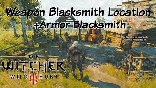 The Witcher 3: Wild Hunt | A Weapon Blacksmith Location