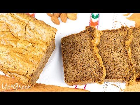 🍞 Almond Bread | Sugar Free | Gluten Free | Flourless | Yo +Green