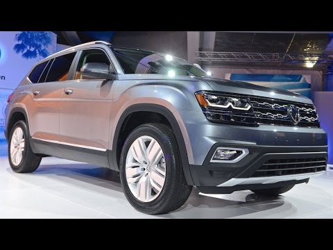 2018 VW Atlas Preview-WHAT YOU NEED TO KNOW