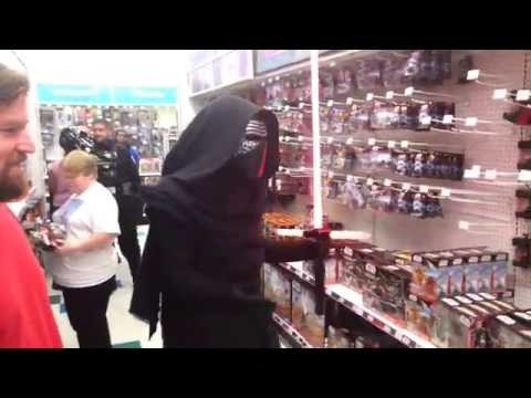 Star Wars Kylo Ren Confused At Toys R Us