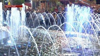 В Киеве заработали свето-музыкальные фонтаны