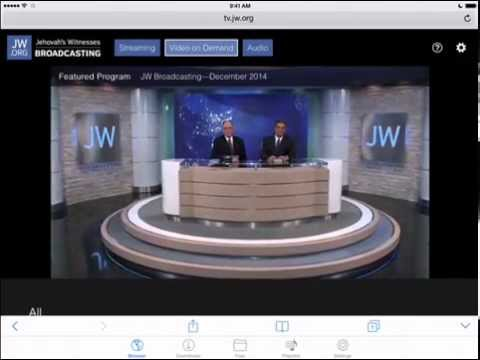 To download and save jw broadcasting videos tv jw org to your ipad