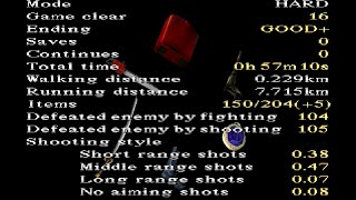 Silent Hill 1 10 Star Rank 57min 10sec