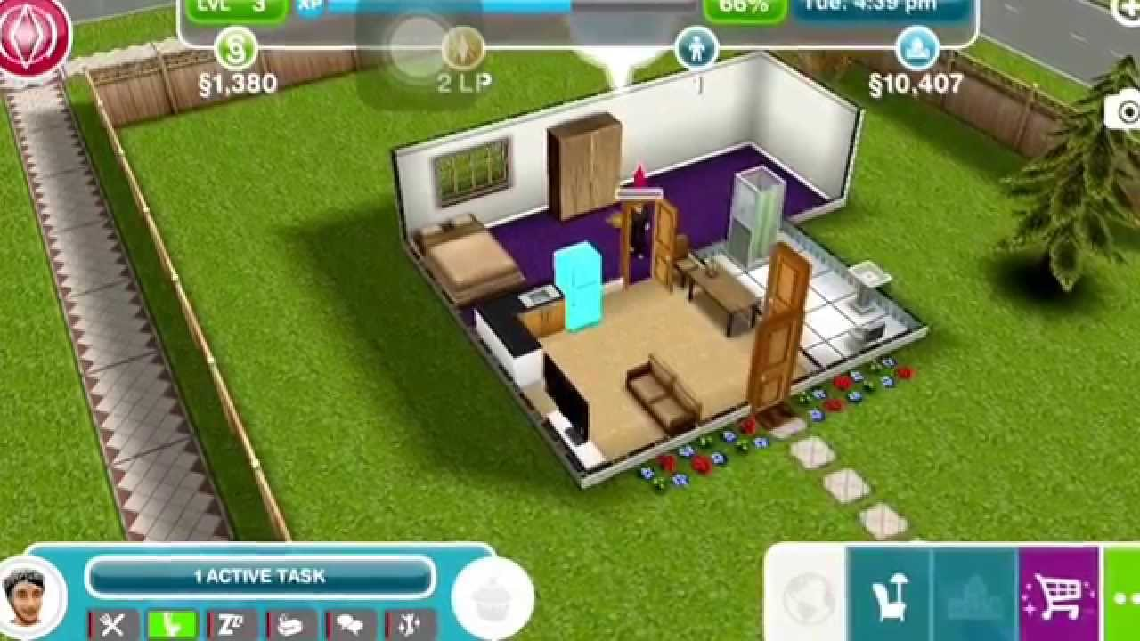 SIMS FREEPLAY  {2} Garden Patch