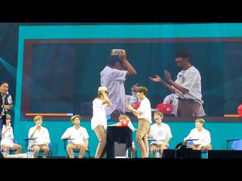 [171013] Woojin and Jaehwan Game cut — Wanna One in Manila