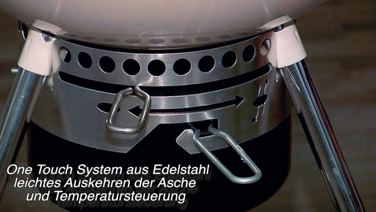 Weber Holzkohlegrill Gebrauchsanweisung : Weber kohlegrill master touch gbs cm youtube