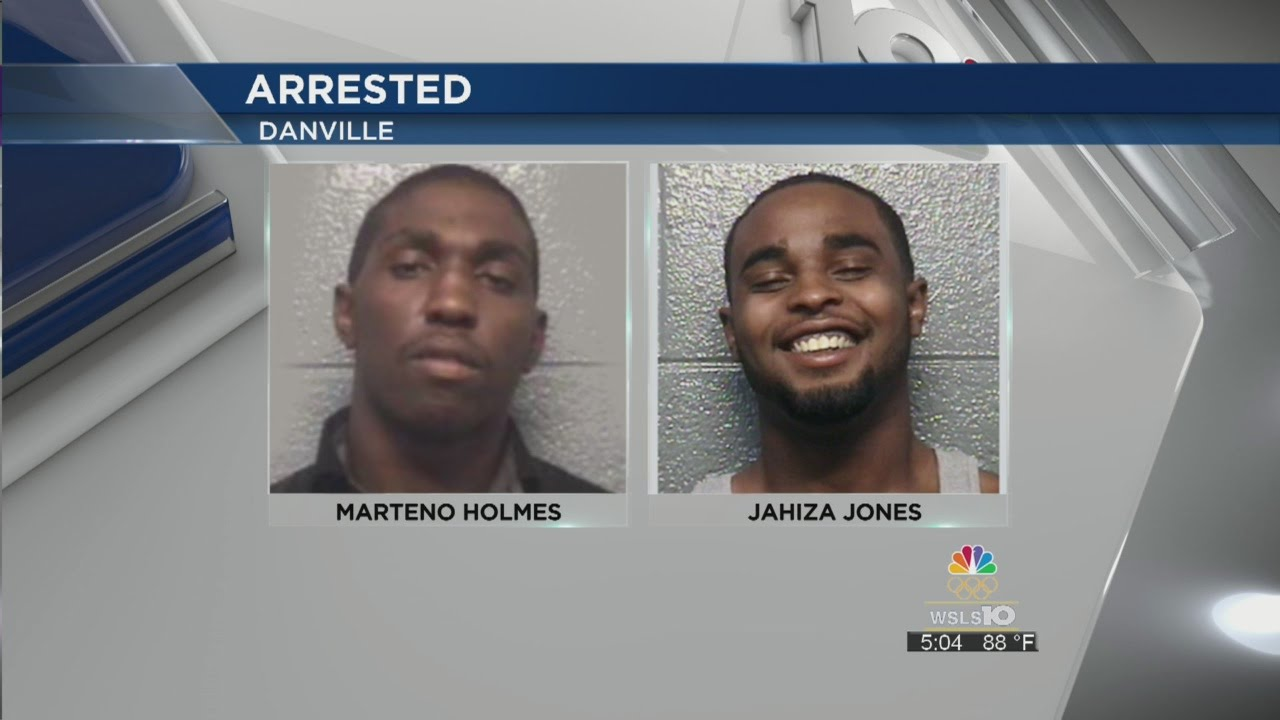 Two Danville men arrested in connection to Saturday's homicide