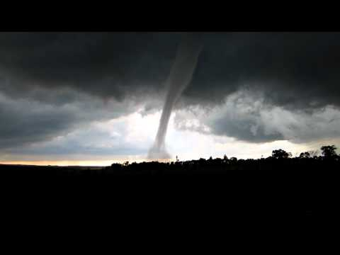 Tornado northwest of Jamestown, ND on July 16, 2011