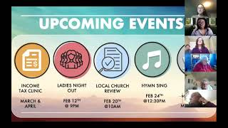 Online Worship, Sunday Feb 7, 2021