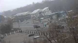МАКЕЕВКА: 3-х КИЛОМЕТРОВАЯ КОЛОННА ВОЕННОЙ ТЕХНИКИ 01.11.2014