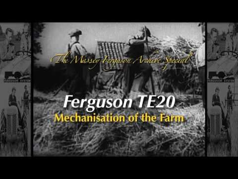 Massey Ferguson Archive Special - TE20 Mechanisation of the Farm (Trailer for DVD)