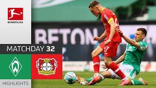 SV Werder Bremen - Bayer 04 Leverkusen  0-0  Highlights  Matchday 32 – Bundesliga 2020/21