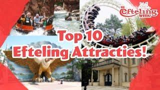 top 10 efteling attracties eftelingweek