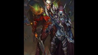 World of WarCraft Lor'themar Theron and Sylvanas Talk