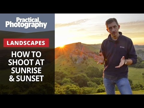 Photography tips - How to shoot iconic landscapes at sunrise and sunset