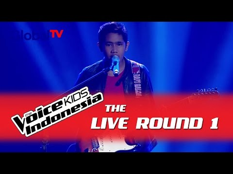 "Rafi ""Stairway To Heaven"" I The Live Rounds I The Voice Kids Indonesia GlobalTV 2016"