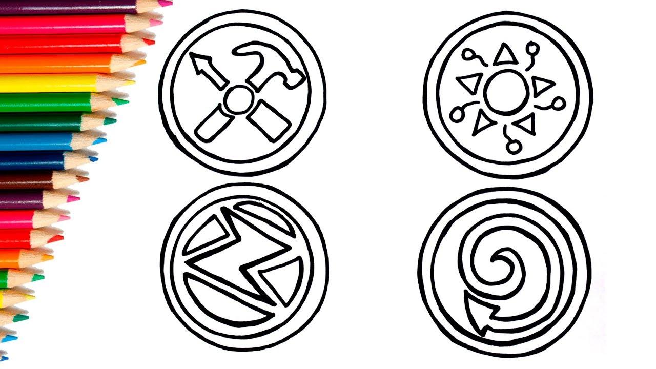 How To Draw Stickers Ricky Zoom Cartoon Dibujando Los