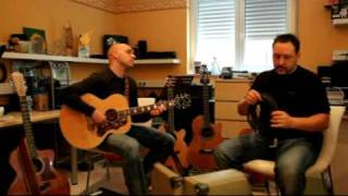 Und wenn ein Lied - Claus Eisenmann mit Jörg Schreiner beim Proben