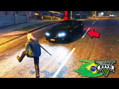 GTA V: BRASIL ROLEPLAY - FUI ATROPELADO no meio do ROLÊ!!! #37