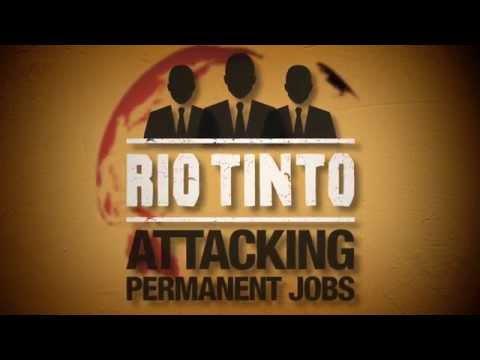 Tell Rio Tinto to STOP precarious work