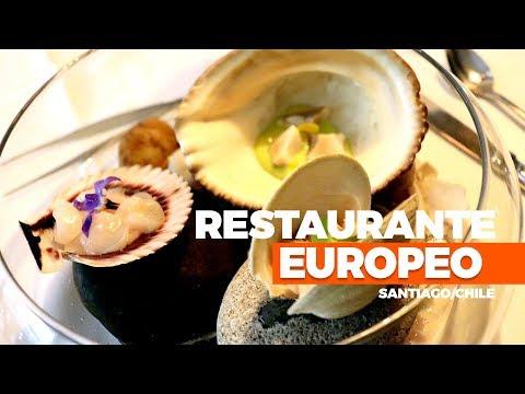 Onde comer em Santiago, Chile, Restaurante Europeo