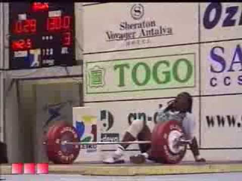 Women 75 kg 2001 World Weightlifting Championships