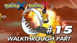 "Pokemon X & Y - Walkthrough Part 15 ""Badass In Reflection Cave"""