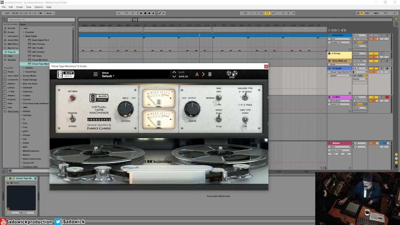 Slate digital virtual tape machines review | musicradar.