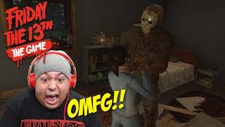 I'M F#%KING JASON!! EVERYBODY DYING!!! [FRIDAY THE 13th] [GAMEPLAY!]