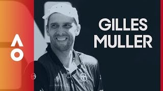 Open Plate with Gilles Muller | Australian Open 2018