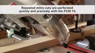 Benefits of: The Bosch PCM 7S Mitre Saw