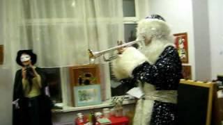 Музыкальный дед мороз на новый год в детском саду