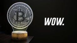This 3D Desk Lamp Looks SICK! (Bitcoin Edition)