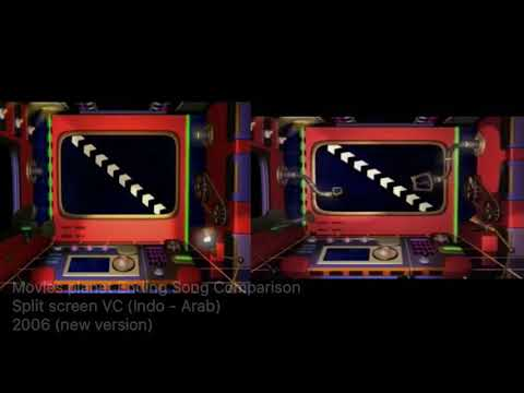 Spacetoon - Ending Song Planet Movies Comparison 2006 Version (Indonesia - Arabic)