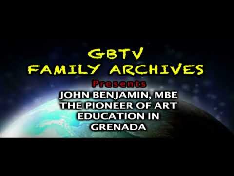 """G.B.T.V. CultureShare ARCHIVES 1986: JOHN BENJAMIN """"Painter/Documentary"""" (Part # 1 of..)  (HD)"""