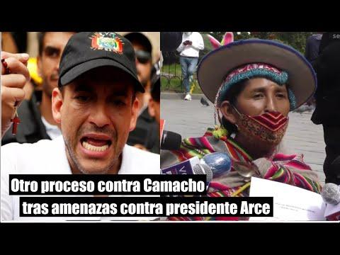 Bolivia: Lidia Patty inicia otro proceso a Camacho por sedición tras amenazas contra Arce