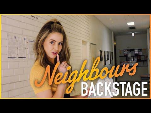 April Rose Pengilly (Chloe)   Backstage video