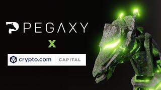 Crypto.com Capital Investing in Blockchain Game Pegaxy