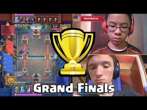 [Grand Finals] CmcHugh Vs MusicMaster | Clash Royale CCGS NA Fall Finals