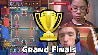 [Grand Finals] CmcHugh Vs MusicMaster | Clash Royale CCGS NA Fall Finals