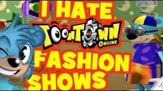 I HATE Toontown Fashion Shows!