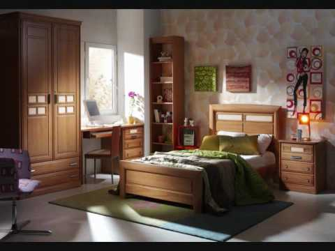 19 dormitorios de madera de youtube - Sofas de madera de pino ...