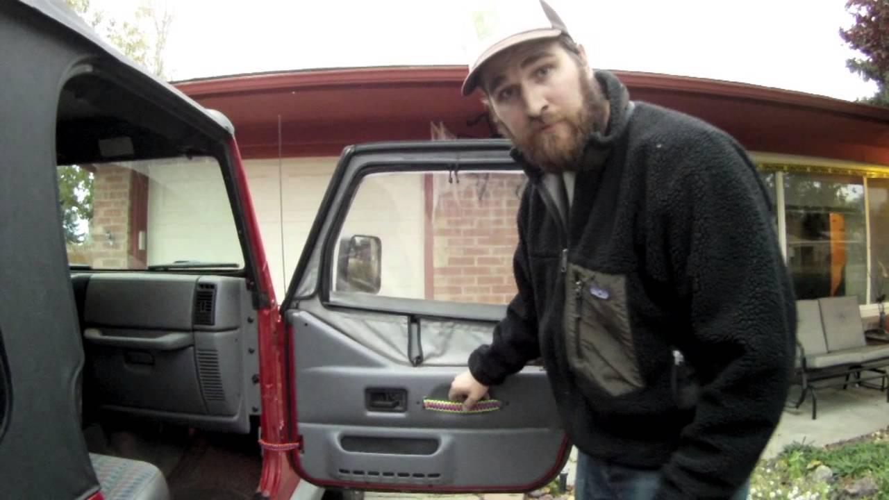 Jeep Cords Custom Paracord Door Pull Handle Installation