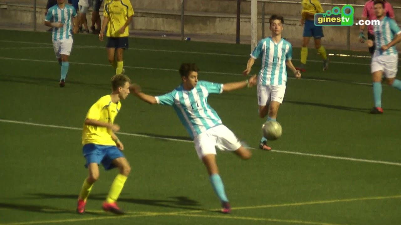 El JD Gines juvenil cayó derrotado en el Trofeo San Ginés de fútbol, que continúa jueves y viernes