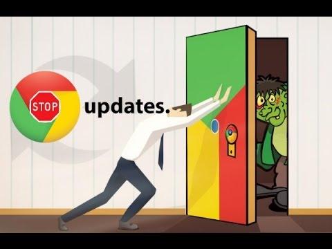 Как отключить автоматическое обновление Google Chrome