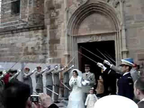 le mariage militaire