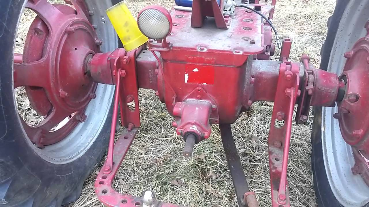 hight resolution of 1953 farmall super h running with rebuilt carb and tune up