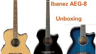 Ibanez AEG 8 Unboxing