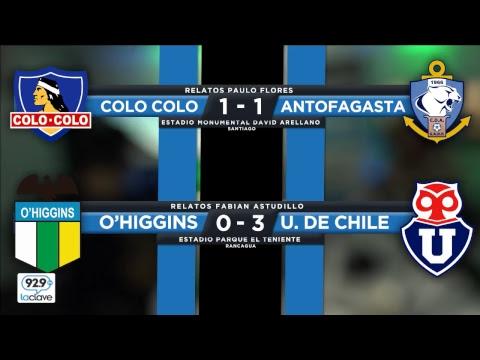 #ConclaveDeportivo Fecha 14 | Colo Colo vs Antofagasta / O'higgins vs  U de Chile