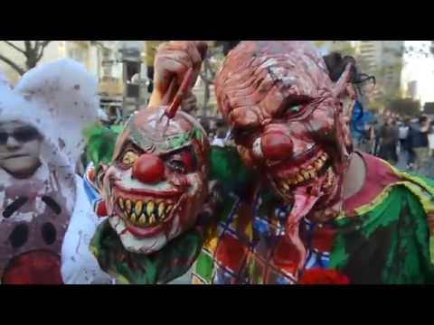 Clown Zombie with Clown Head
